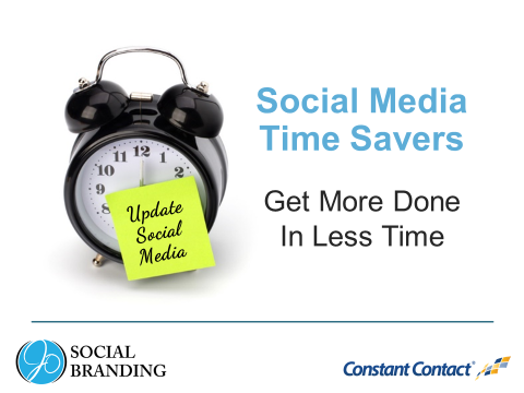 North Shore Mompreneurs social media time saver flyer