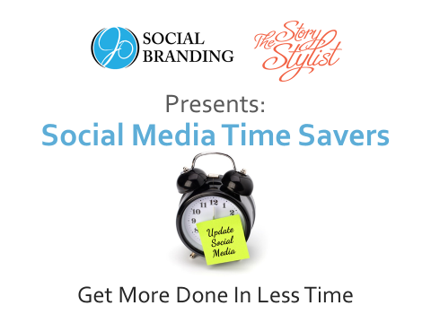 Story Stylist Social Media Time Saver Webinar Flyer